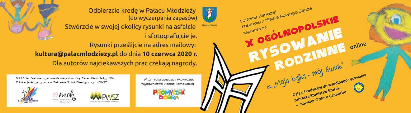 X Ogólnopolskie Rodzinne Rysowanie z okazji Dnia Dziecka